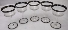 """HAWKES crystal HAW14 pattern Set of 5 Liquor/Cocktail Glasses  5"""""""