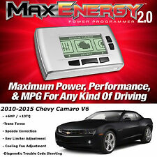 New Hypertech Max Energy 2.0 Tuner Programmer 2010-2015 Chevy Camaro V6 +HP MPG