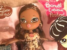 Bratz Kidz Sasha Doll with 3 Extra Outfits