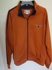University of Texas Longhorns Premium Zipped Track Jacket Men XL Foot Locker