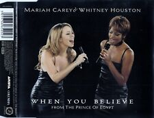 MARIAH CAREY & WHITNEY HOUSTON : WHEN YOU BELIEVE / CD