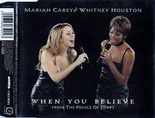 MARIAH CAREY & WHITNEY HOUSTON : WHEN YOU BELIEVE / CD - TOP-ZUSTAND
