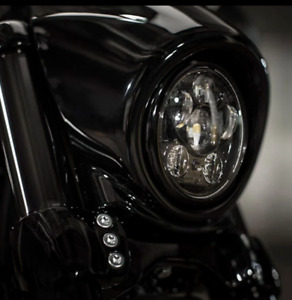 """5.75"""" LED Headlight for Indian Scout and Indian Bobber Motorcycles"""