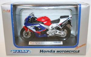 Welly 1/18 Scale Model  - Honda CBR900RR Fireblade