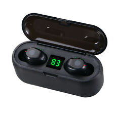 Bluetooth Headset 5.0 Wireless Earphones TWS Stereo Earbuds Deep Bass Headphones