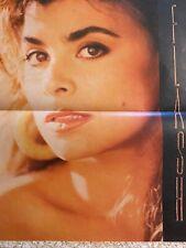 Paula Abdul, Full Page Vintage Pinup, Large Format