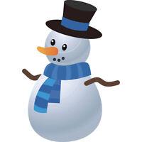 Christmas Snowman Metal Cutting Dies Stencils DIY Scrapbooking Album Paper C MC