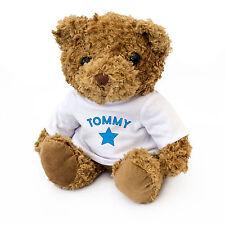 NEW - TOMMY - Teddy Bear - Cute And Cuddly - Gift Present Birthday Xmas