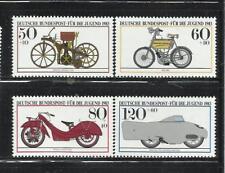ALEMANIA, (R.F.A.). Año: 1983. Tema: PRO JUVENTUD. MOTOCICLETAS HISTORICAS.