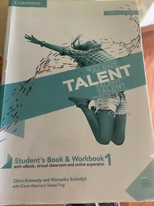9781108687751 Talent. Student's book e Workbook. Per le Scuole s...ngua inglese]