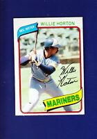 Willie Horton 1980 TOPPS Baseball #532 (NM) Seattle Mariners