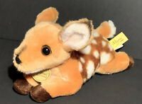 "Miyoni by Aurora Fawn Deer Plush 9.5"" Realistic Stuffed Animal Brown Soft Cute"