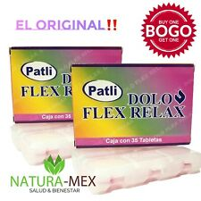 Buy One Get One FREE‼️ DOLO FLEX RELAX calma dolor, inflamacon joint pain 70 Tab
