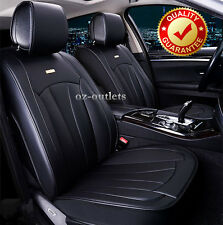 Black Soft Car Seat Cover 5 Seats Front Back Holden Cruze Calais Holden Captiva