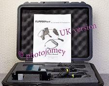 Evs flipperport 0400 Portátil Electrónica de baja visión Lupa Uk Como Nuevo