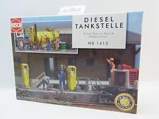 Busch 1413 Diesel-tankstelle H0