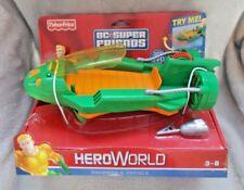 RARE Fisher Price DC Comics / Hero World DC Super Friends - Aquaman & Vehicle