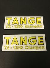 Tange TX -1200 Champion Fork STICKERS Decals Old School Bmx