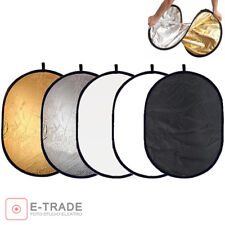 """92x122cm 5in1 Disc Photo Photography Light Multi Reflector Panel Collapsible 48"""""""
