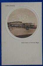 LIDO Stabilimento e Terrazza Bagni  in rilievo  no viag  anni 20 f/p #21545