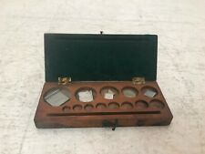 VINTAGE SET OF APOTHECARY WEIGHTS Used Good Condition (R5)
