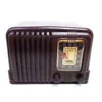 For Repair Only Vintage RCA Victor 45-X-11 Vacuum Tube Radio Bakelite 1940 MCM