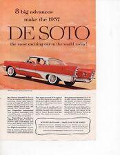 Crysler Desoto 1957 Vintage Print Ad
