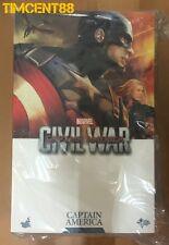 Ready! Hot Toys MMS350 Captain America Civil War 1/6 Chris Evans Steve Rogers