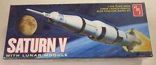 AMT Round 2 1/200 Saturn V NASA Rocket W/ Eagle Lunar Module Model Kit