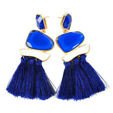 Vintage Fashion Bohemian Fringe Boho Long Tassel Hook Dangle Earrings For Women