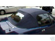 89-04 MIATA CONVERTIBLE SOFT TOP with Glass Window Blk