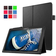 "Magnetic Smart Cover Leather Book Stand Case For Lenovo E10 10.1"" Inch Tablet"