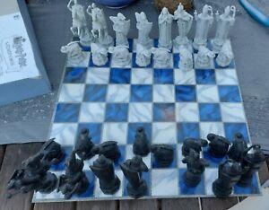 Harry Potter Wizard Chess Set Board Game Mattel 2002