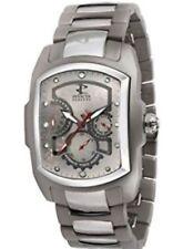 Hombres 5759 Reserva Lupa Colección Automático Titanio y Acero Inoxidable Reloj