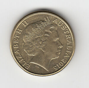 2015 ONE DOLLAR $1 COIN 'MOB OF ROOS' - GREAT COIN