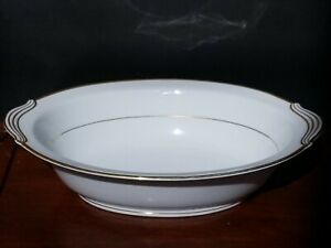 "Noritake Guilford - Oval Vegetable Serving Bowl - 7 5/8"" x 10 1/2"""