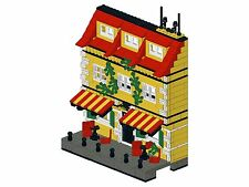 Lego - Bricksy's Modern Town - K05 - Haus IV - Cafe