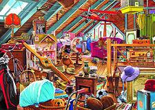 NOUVEAU! Falcon de Luxe Toys in the Attic 1000 Pièce Nostalgique Jigsaw Puzzle