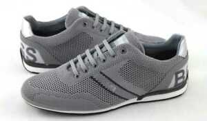 Hugo Boss Schuhe Shoe Sneakers Saturn_Lowp_knlg 10227335 Grau