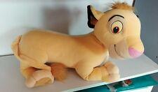 Grande peluche Simba le Roi Lion Disney 50 cm sans compter la queue
