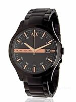 BRAND NEW MENS ARMANI EXCHANGE A X (AX2150) BLACK STAINLESS STEEL WATCH SALE!
