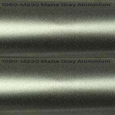 ( 24,99€/ m²) 0,5m X1,52M scotchprint 3M 1080 M230 Natte gris aluminium Wrap