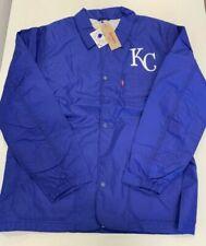 Levi's X MLB Kansas City Royals Windbreaker Style Club Coat Men's Size XL
