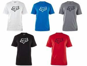 Fox Head Racing LEGACY SS Tee T Shirt Black Red White Blue Graphite MX SX ATV