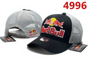 Black/Grey Original Red Bull Cap - New With Tag