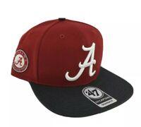 Alabama Crimson Tide hat cap new nwt logo snapback Adjustable flatbill red black