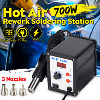 220V High Power 700W Digital Soldering Iron Station Desoldering Hot Air Gun
