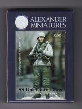 ALEXANDER MINIATURES 35008 - SS UNTERSTURMFUHRER OSTFRONT 43/45 - 1/35 RESIN KIT
