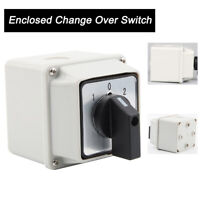 LW26-20 1 Pole Enclosed Change Over Switch  37V-440V  closed conversion switch