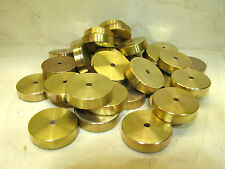 THE LAST O GAUGE WAGON WEIGHTS - (103) BRASS WEIGHTS 26 GRAMS EACH.